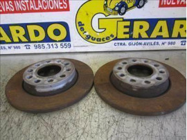 Rear Brake Disk Audi A4 Berlina (8E)(2000+) 3.0 [3,0 Ltr. - 162 kW V6 30V CAT (ASN)]