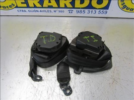 Rear Seat Belts Seat Ibiza (6L1)(04.2002 +) 1.4 16V