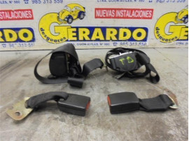 Rear Seat Belts Ford Puma (CCE)(1997+) 1.4 [1,4 Ltr. - 66 kW 16V CAT]