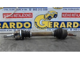 Drive Shaft Front Left Peugeot 206 Berlina (1998+) 1.9 D