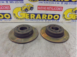Rear Brake Disk Mercedes-Benz Clase C Sportcoupe (BM 203)(2000+) 2.0 C 200 Compressor (203.745) [2,0 Ltr. - 120 kW Compresor CAT