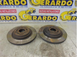 Rear Brake Disk Mercedes-Benz Clase M (BM 163)(1997+) 2.7 270 CDI (163.113) [2,7 Ltr. - 120 kW CDI 20V CAT]