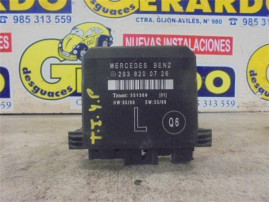Lock Door Control Unit Mercedes-Benz Clase C Berlina (BM 203)(2000+) 2.2 220 CDI (203.006) [2,2 Ltr. - 105 kW CDI CAT]